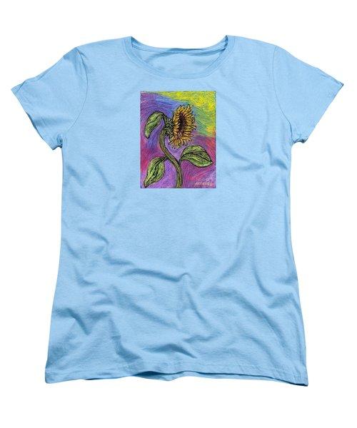 Spanish Sunflower Women's T-Shirt (Standard Cut) by Sarah Loft