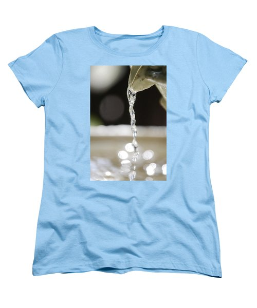 Women's T-Shirt (Standard Cut) featuring the photograph Sparkle by Leticia Latocki