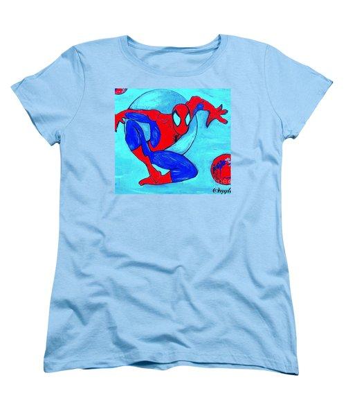 Spider-man  Women's T-Shirt (Standard Cut) by Saundra Myles