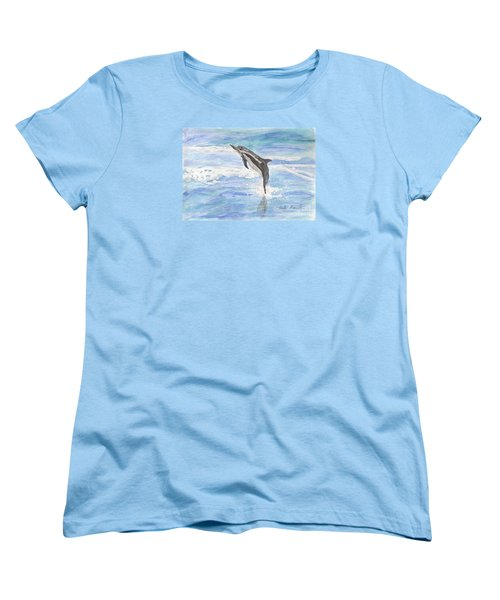 Spinner Dolphin Women's T-Shirt (Standard Cut)
