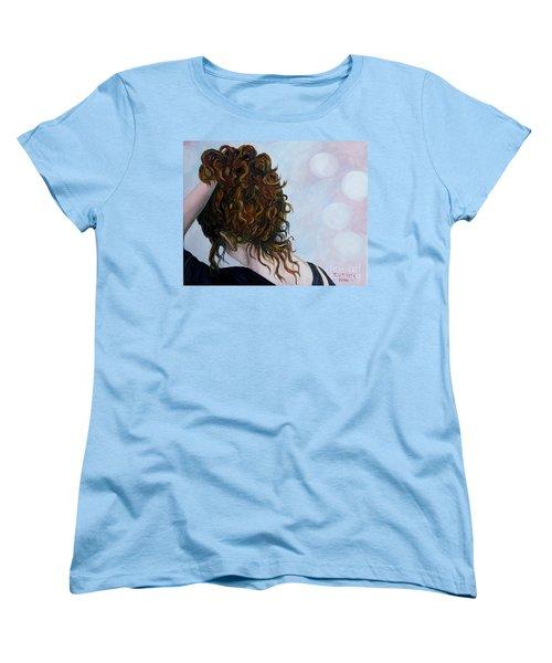 Spirit Guides Women's T-Shirt (Standard Cut) by Julie Brugh Riffey