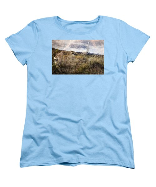 Spirit Of The Past Women's T-Shirt (Standard Cut) by Belinda Greb