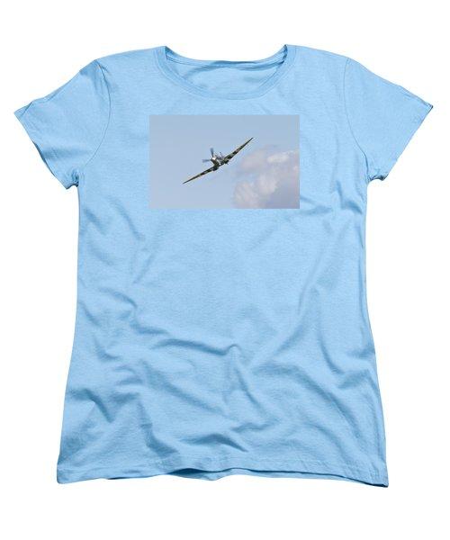 Spitfire Women's T-Shirt (Standard Cut) by Maj Seda