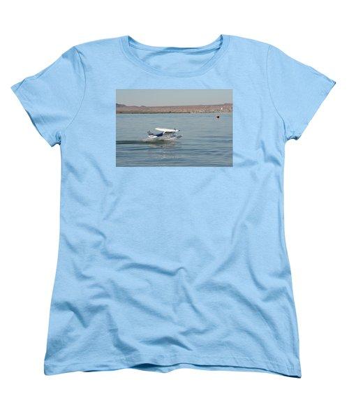 Splashdown Women's T-Shirt (Standard Cut) by David S Reynolds