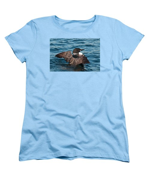 Women's T-Shirt (Standard Cut) featuring the photograph Spreading My Wings by Brenda Jacobs