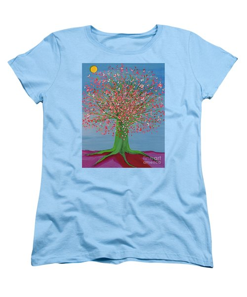 Spring Fantasy Tree By Jrr Women's T-Shirt (Standard Cut) by First Star Art