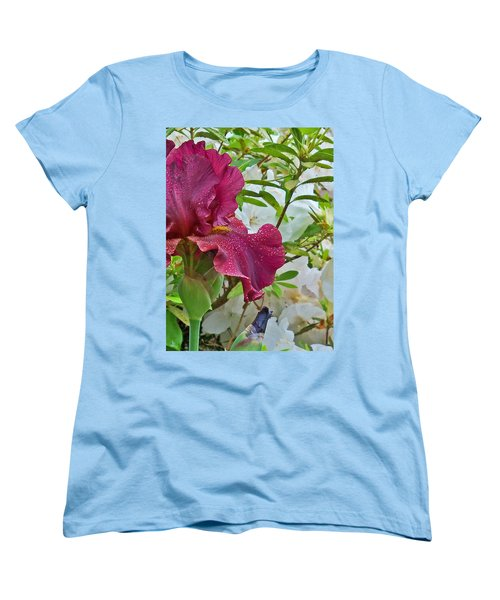 Women's T-Shirt (Standard Cut) featuring the photograph Spring Glow by Larry Bishop