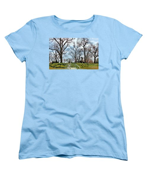 Spring Is Coming Women's T-Shirt (Standard Cut) by Janette Boyd