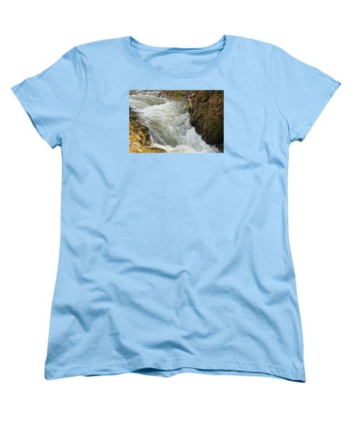 Women's T-Shirt (Standard Cut) featuring the photograph Spring Rush by Julie Andel