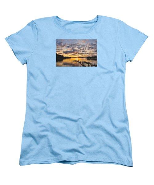 Spring Sunrise Women's T-Shirt (Standard Cut) by Sean Griffin