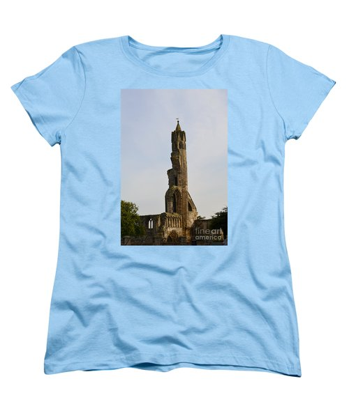 St Andrew's Cathedral Ruins Women's T-Shirt (Standard Cut) by DejaVu Designs