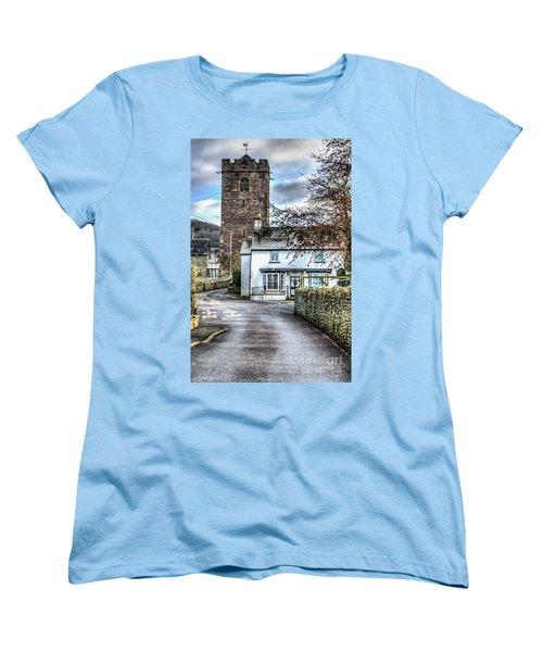St Gwendolines Church Talgarth Women's T-Shirt (Standard Cut) by Steve Purnell
