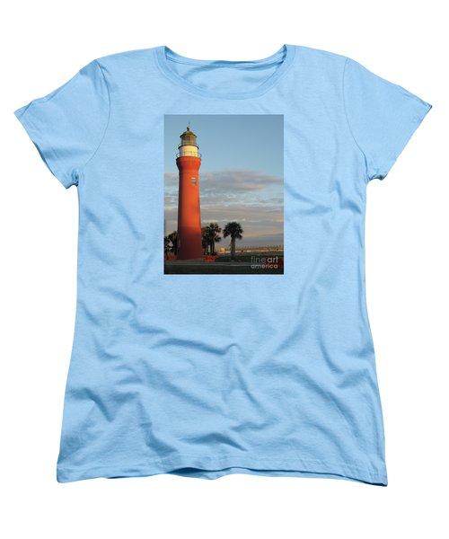 St. Johns River Lighthouse II Women's T-Shirt (Standard Cut) by Christiane Schulze Art And Photography