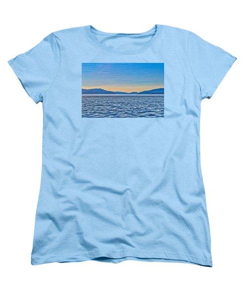 St. Lawrence Seaway Women's T-Shirt (Standard Cut) by Bianca Nadeau