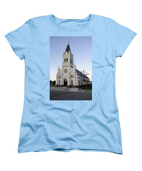 Women's T-Shirt (Standard Cut) featuring the photograph St. Peter's by Fran Riley