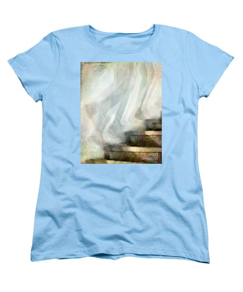 Left Behind Women's T-Shirt (Standard Cut) by Jennie Breeze