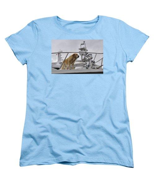 Standing Guard Women's T-Shirt (Standard Cut)