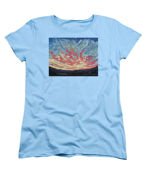 Standing Outside The Fire Women's T-Shirt (Standard Cut) by Phil Chadwick