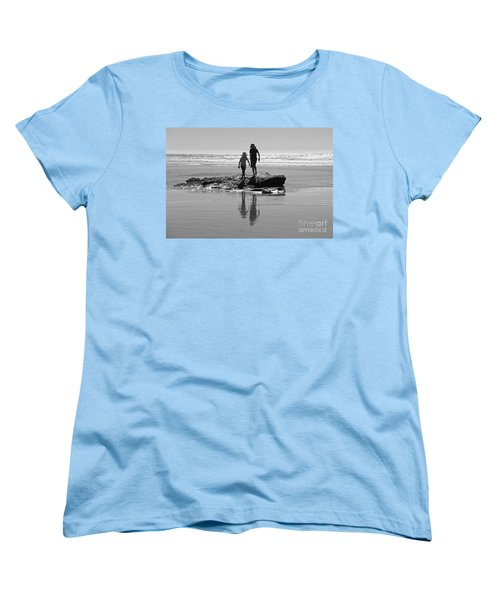 Stay Curious Women's T-Shirt (Standard Cut) by Suzanne Oesterling