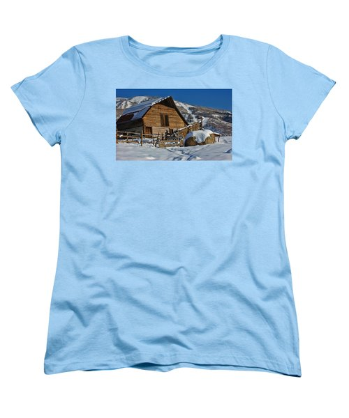 Steamboat Barn Women's T-Shirt (Standard Cut)