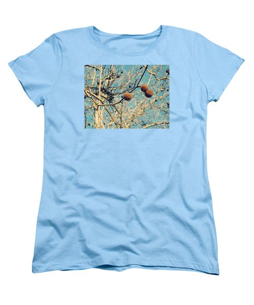 Sticks And Pods Women's T-Shirt (Standard Cut) by Meghan at FireBonnet Art
