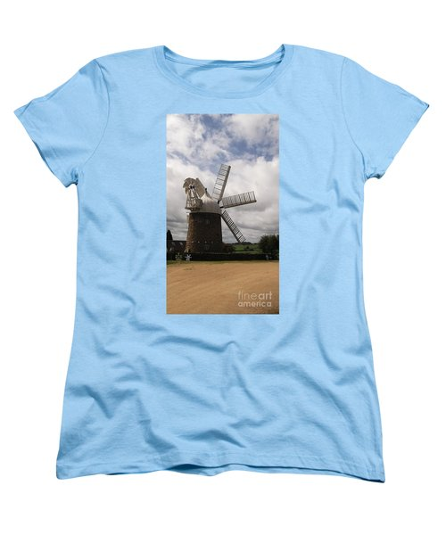 Still Turning In The Wind Women's T-Shirt (Standard Cut) by Tracey Williams