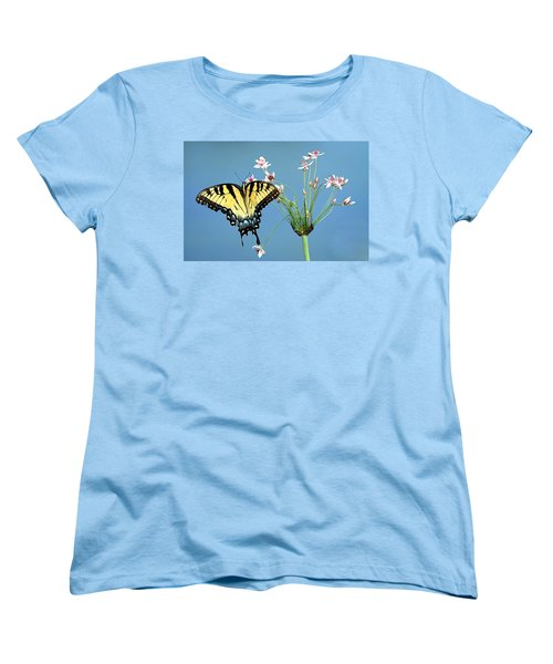 Stop And Smell The Flowers Women's T-Shirt (Standard Cut)