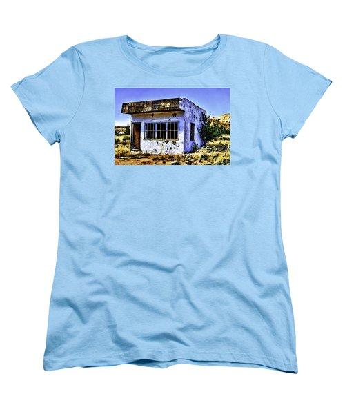 Women's T-Shirt (Standard Cut) featuring the painting Store by Muhie Kanawati