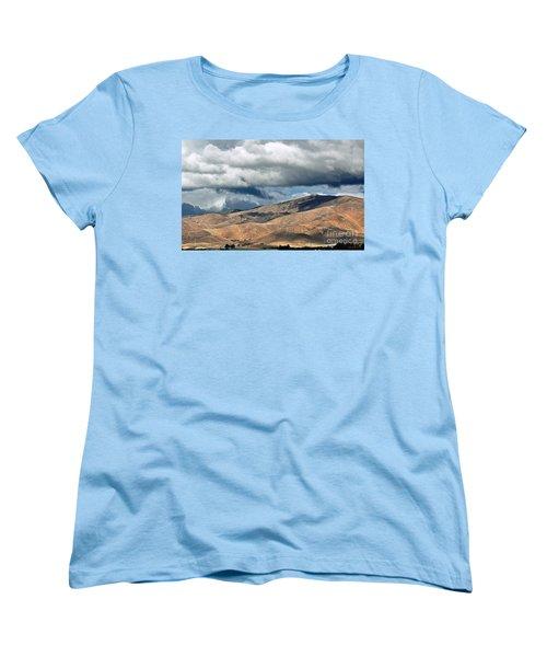 Storm Clouds Floating Above Mountains Women's T-Shirt (Standard Cut)
