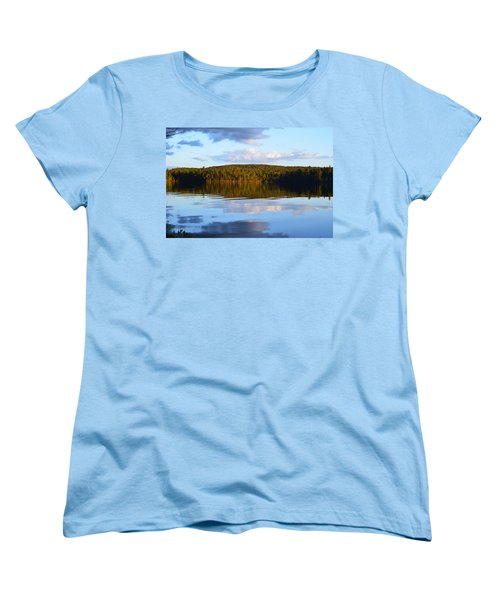Stormclouds Scatter Women's T-Shirt (Standard Cut) by David Porteus