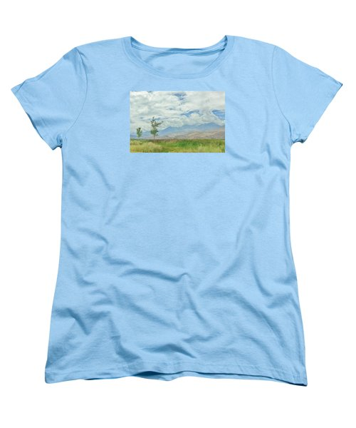 Women's T-Shirt (Standard Cut) featuring the photograph Stormin by Marilyn Diaz