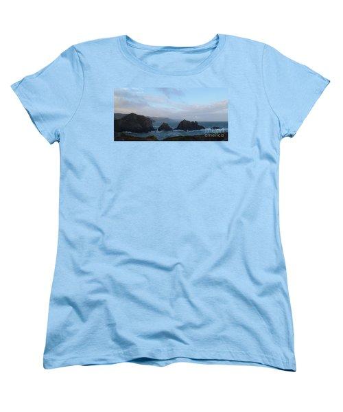 Hartland Quay Storm Women's T-Shirt (Standard Cut) by Richard Brookes