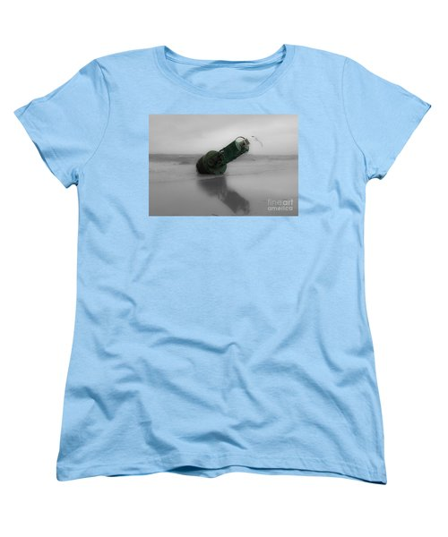 Women's T-Shirt (Standard Cut) featuring the photograph Stranded Too by Angela DeFrias