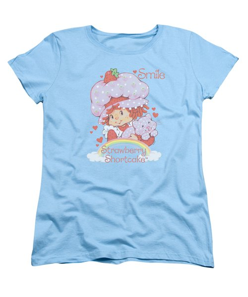 Strawberry Shortcake - Smile Women's T-Shirt (Standard Cut) by Brand A