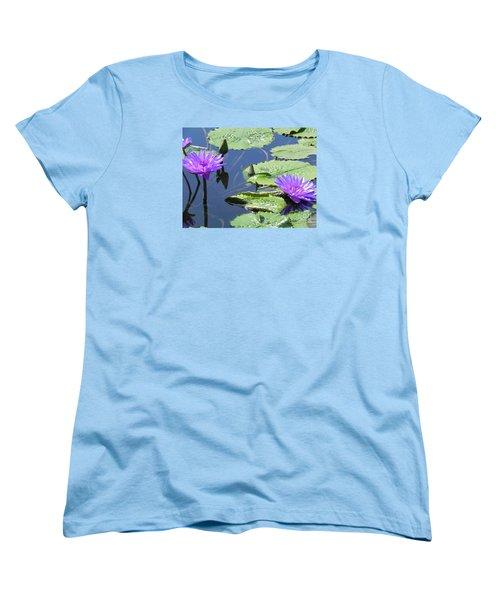 Women's T-Shirt (Standard Cut) featuring the photograph Striking Silhouettes by Chrisann Ellis