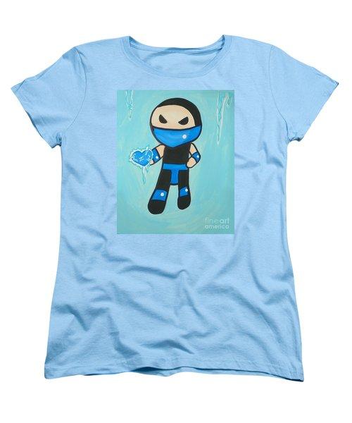 Subzero Frozen Heart Women's T-Shirt (Standard Cut) by Marisela Mungia