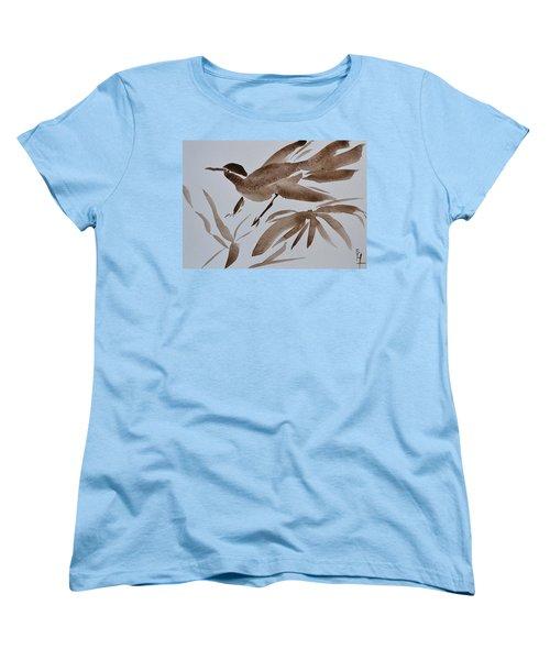 Sumi Bird Women's T-Shirt (Standard Cut) by Beverley Harper Tinsley