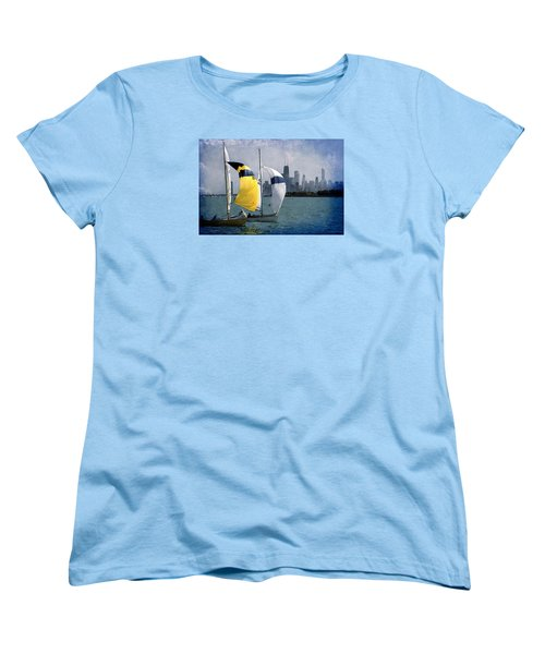 Summer Day Women's T-Shirt (Standard Cut) by Milena Ilieva