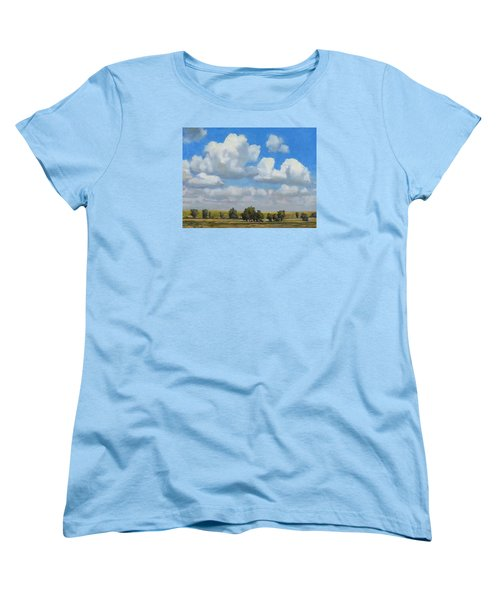 Summer Pasture Women's T-Shirt (Standard Cut) by Bruce Morrison