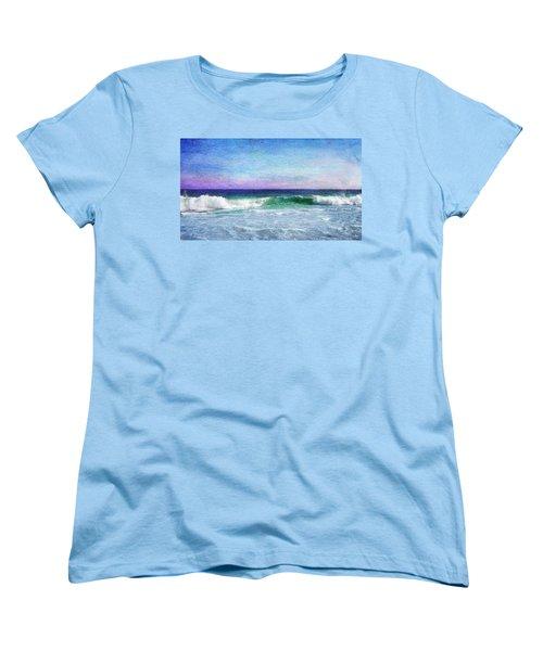 Summer Salt Women's T-Shirt (Standard Cut) by Laura Fasulo