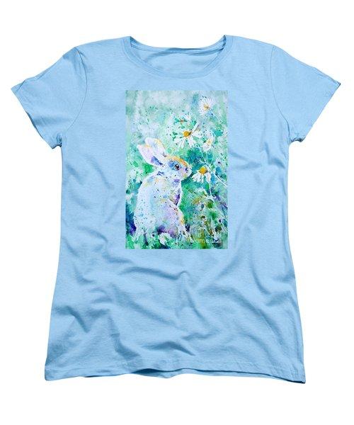 Summer Smells Women's T-Shirt (Standard Cut) by Zaira Dzhaubaeva