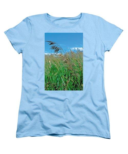 Summer Women's T-Shirt (Standard Cut) by Terry Reynoldson