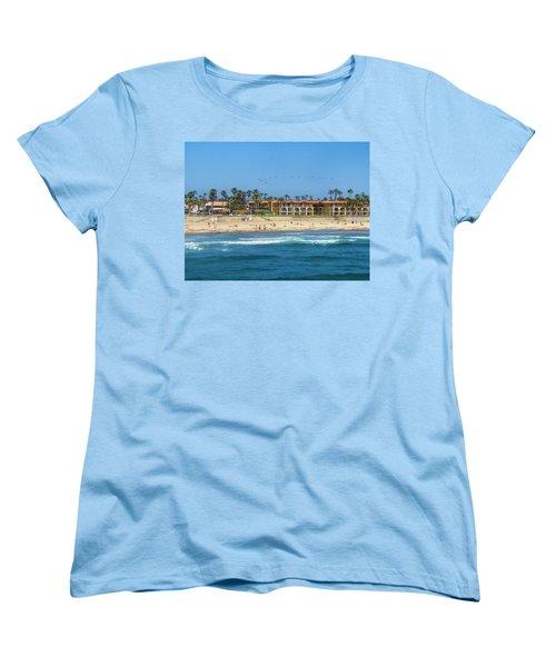 Summertime Women's T-Shirt (Standard Cut) by Tammy Espino