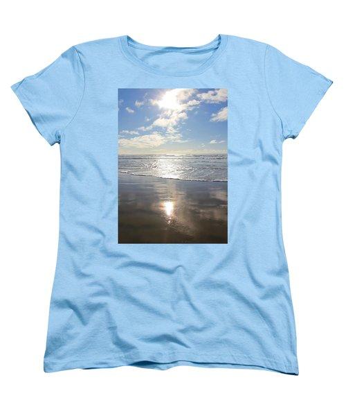 Sun And Sand Women's T-Shirt (Standard Cut) by Athena Mckinzie