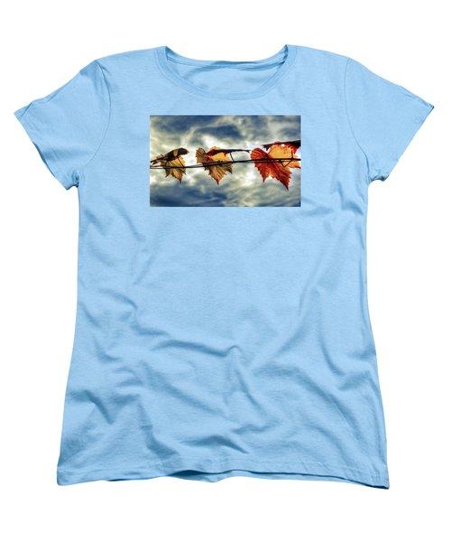 Sun Dance Women's T-Shirt (Standard Cut) by Wayne Sherriff