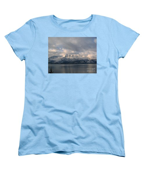 Sun On The Mountains Women's T-Shirt (Standard Cut) by Leone Lund