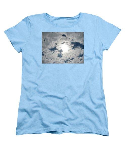 Sun Peek Women's T-Shirt (Standard Cut) by Deborah Lacoste