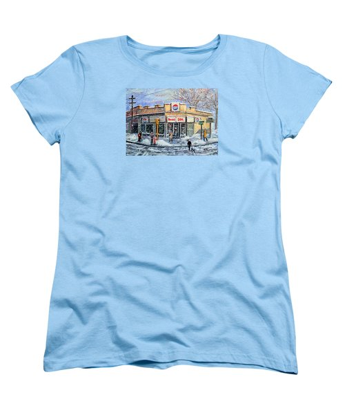 Sunday Morning At Renie's Spa Women's T-Shirt (Standard Cut) by Rita Brown