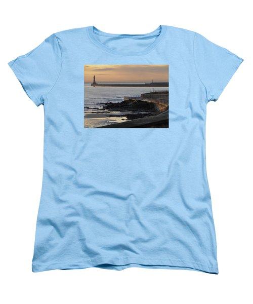 Sunderland Sunrise Women's T-Shirt (Standard Cut) by Julia Wilcox