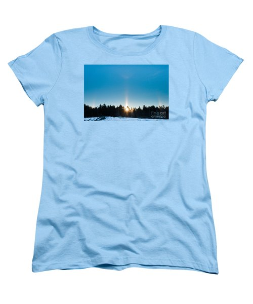 Sundog Spectacular Women's T-Shirt (Standard Cut) by Cheryl Baxter